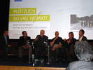 Panel 'Unheimliche Sehnsucht nach Heimat' at WDR Heimat Symposium - October 2009